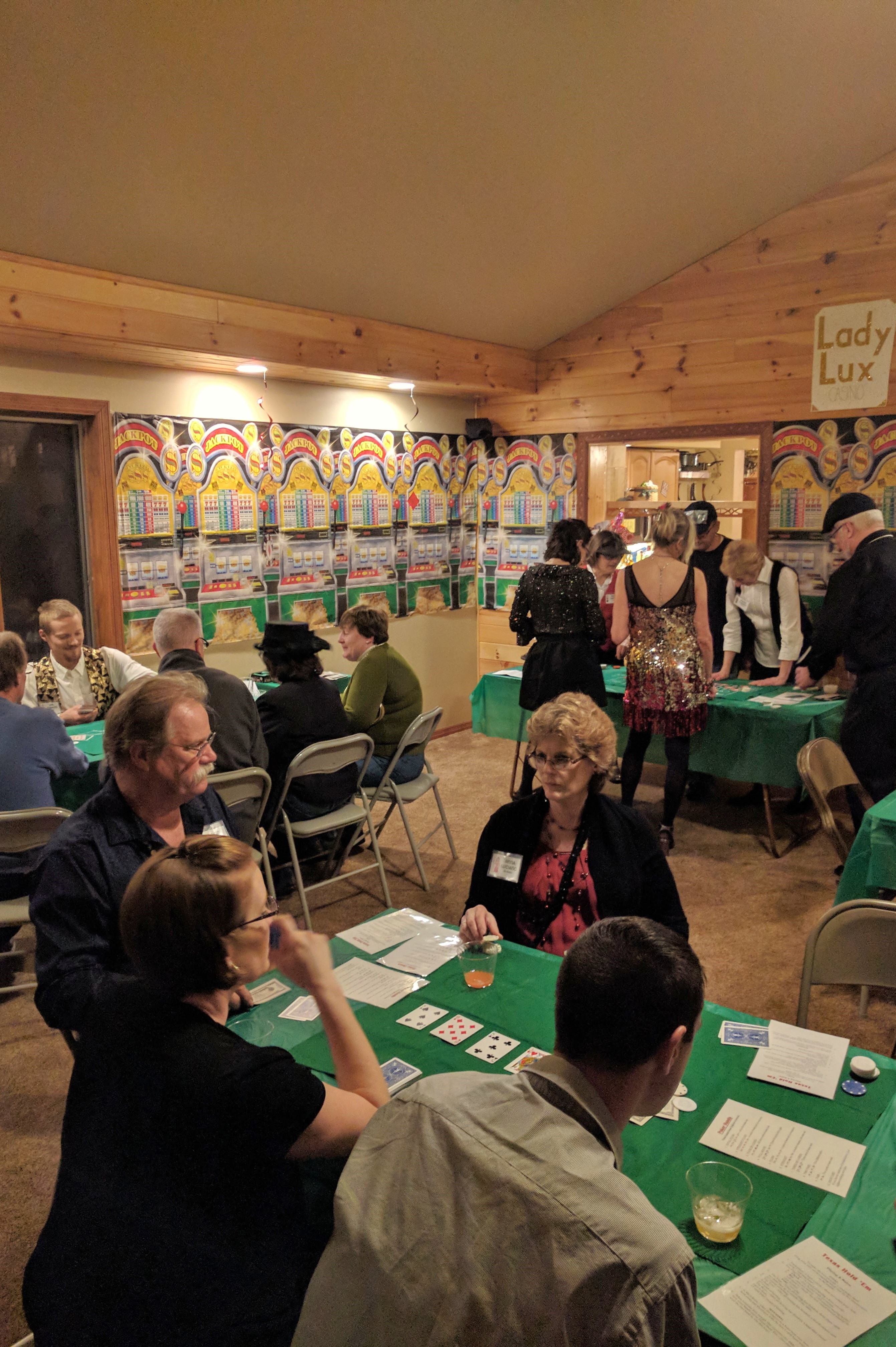 Offline poker games