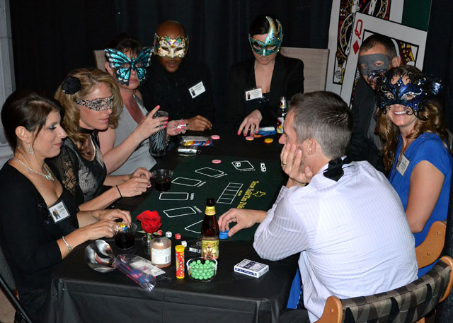 Casino theme party. How to Host a Murder Mystery Party. #murdermysteryparty www.playingwithmurder.com