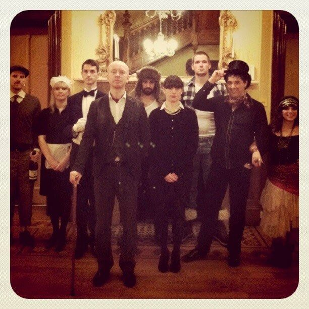 Haunted manor theme party. How to Host a Murder Mystery Party. #murdermysteryparty www.playingwithmurder.com