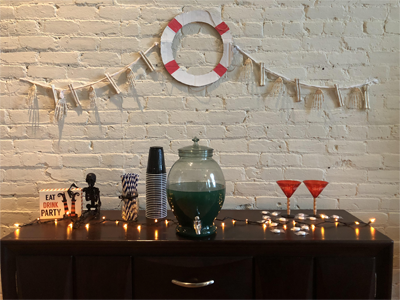 Murder Mystery Party Decor